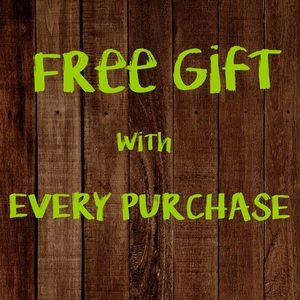 💥FREE GIFT with every purchase!💥